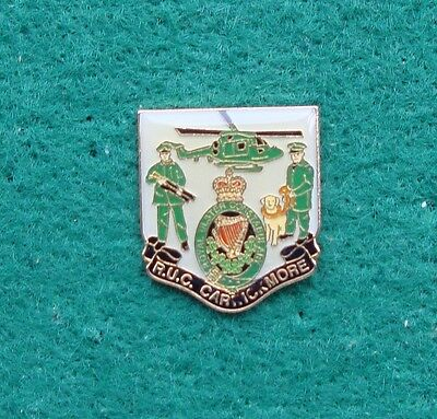 RUC Royal Ulster Constabulary Police CARRICKMORE Helicopter pin badge