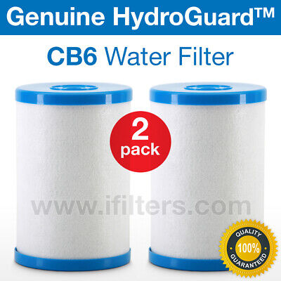 2 Pack Genuine Hydro Guard CB6 Carbon Block Water Filter For MP Systems