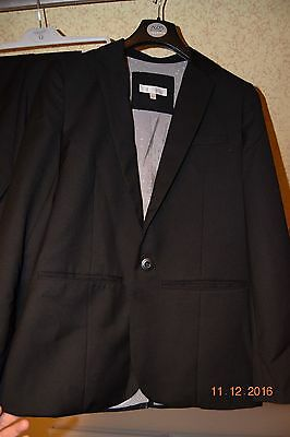 Aged 12 / 13 Boys Black RJR John Rocha suit