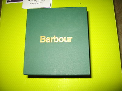 Barbour watch box