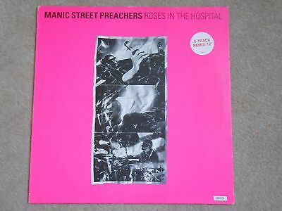 "Manic Street Preachers 12"" single Roses in the hospital"