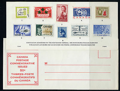 Weeda Canada VF 1960 Annual Souvenir Card #2 in original envelope CV $20