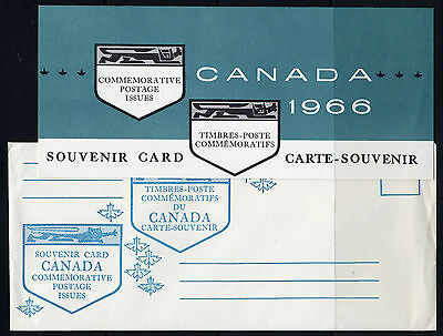 Weeda Canada VF 1966 Annual Souvenir Card #8 in original envelope CV $7.50