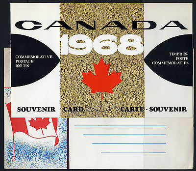 Weeda Canada VF 1968 Annual Souvenir Card #10 in original envelope CV $5
