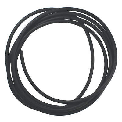 E. JAMES Viton(R) Rubber Cord,Viton,3/16 In Dia,25 Ft, CSVIT-3/16-25, Black