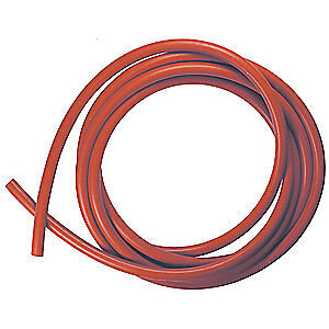 E. JAMES Rubber Cord,Silicone,1/2 In Dia,10 Ft, CSSIL-1/2-10, Red
