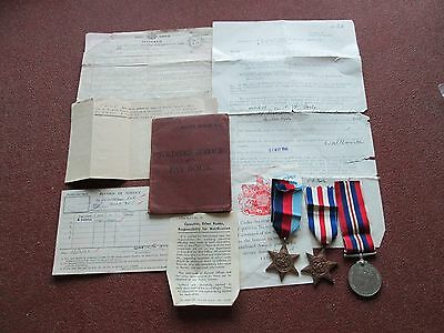 Ww2 Medals Documents Ect
