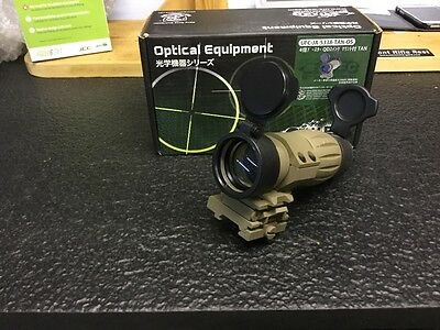 Magnifying  sight airsoft paintball