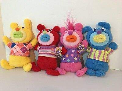Fisher Price Mattel Lot Of 4 Sing A Ma Jig Talking Singing Dolls Harmonize VIDEO