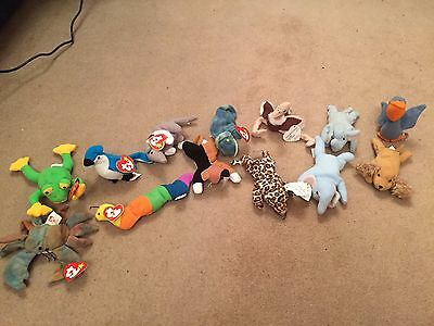 McDonald's Teenie Beanie Babies - Various (some without tags)