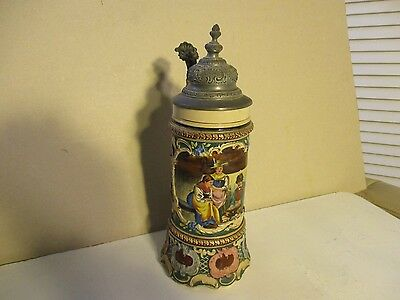 Antique German Stein  Dumler&Breiden .5L  614