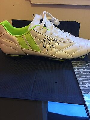 hand signed football boot celtic k toure