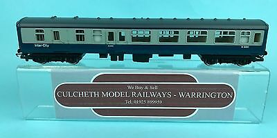Hornby 'oo' Gauge Br Mk2 'intercity' Blue/grey Brake Coach No:m9450 Unboxed