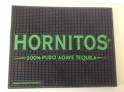 Hornitos 100% Puro Agave Tequila Rubber Bar Beer Spill Mat #E