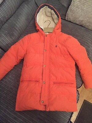 Boys Joules Coat Age 7 Ex Cond
