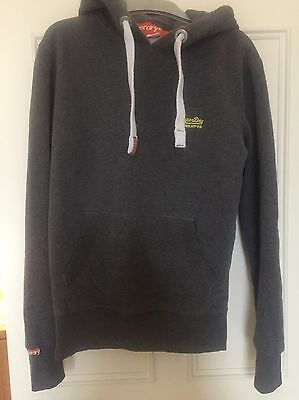 Men's Grey Superdry Jumper Size Small