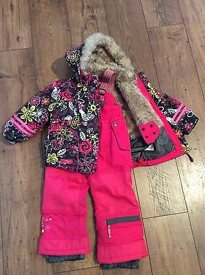 Girls Ski Jacket Ski Trousers And Thermals