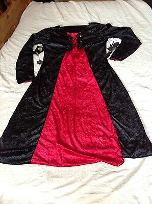 black n red dress up party dress