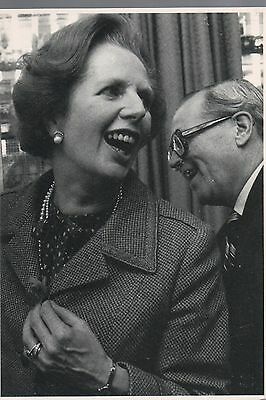 POSTCARD - political satire, Margaret Thatcher
