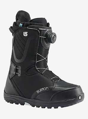2017 Burton Limelight Women's Snowboard Boot Black Size 8