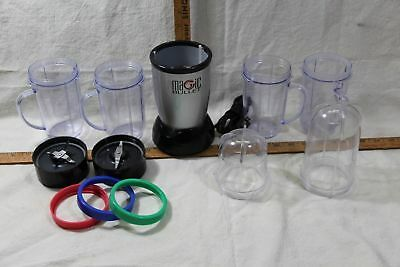 Short Cup Tall Cup Pitcher Cup Cross Blade Base Gear Lid For Magic Bullet Part
