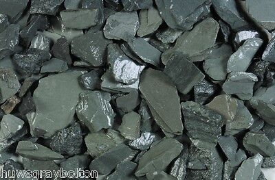 Quality Garden GREEN Slate Chippings Bulk Bag NOW ONLY  £88.15 We Deliver Local