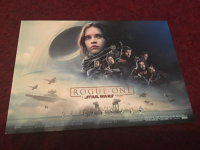 Star Wars Rogue One Postcard - For Science Museum Imax London