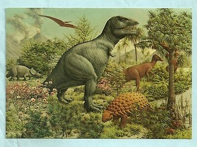 Age Of Reptiles Mural, Chrome, Unposted, Peabody Museum, Yale University, New Ha