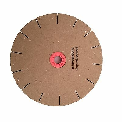 """Paper Sharpening Wheels - 6"""" Slotted Polishing Replacement Wheel for 5"""" Grinder"""