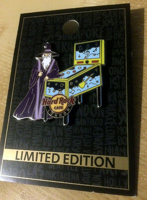 Hard Rock Cafe London 2016 The Who 50th Anniversary Tour Pinball Wizard Pin
