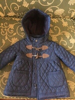Bebe Quilted Winter Coat Size 0 VGC