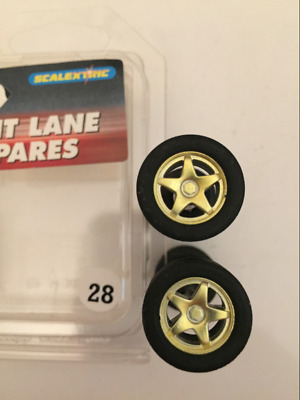 Scalextric C8098 Axle Set Rally Subaru and Toyota Corolla New