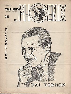 The New Phonix - Dai Vernon Edition - July 9, 1954