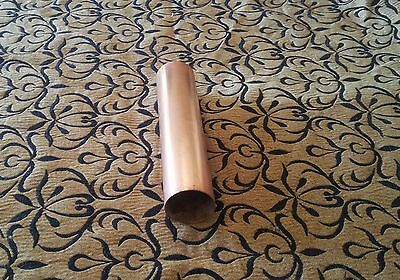 "Copper tube pipe 3"" diameter Still, Steam boiler Model engineering Live Steam"