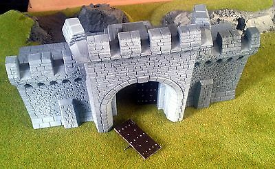 Warhammer Fortress Castle Wall Gate section Scenery OOP