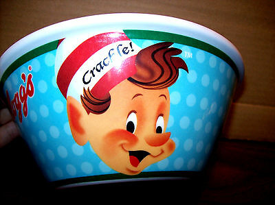 Kelloggs Rice Crispies Snap Crackle & Pop Cereal BOWL