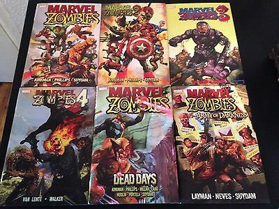 Marvel Zombies Hardback 6 Graphic novels Collection