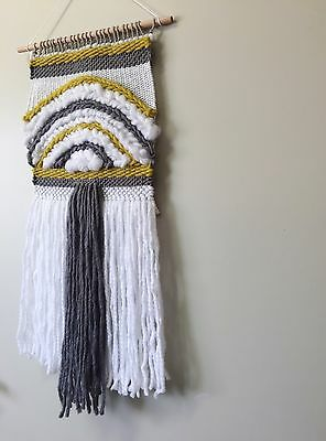 Unique Handmade Woven Wall Hanging Art Weave