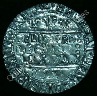 Charles I 1644 Oxford Mint Sixpence Hammered Coin Restrike Rare Lovely Antique