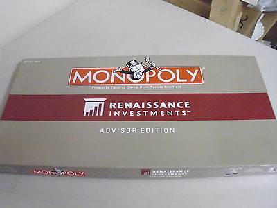 Monopoly Renaissance Advisor Edition Board Game Replacement Pieces Only