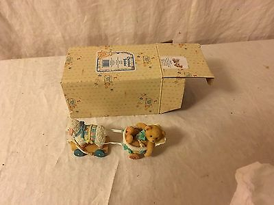 Enesco Cherished Teddies Brooke #302686 Arriving With Love and Care NIB