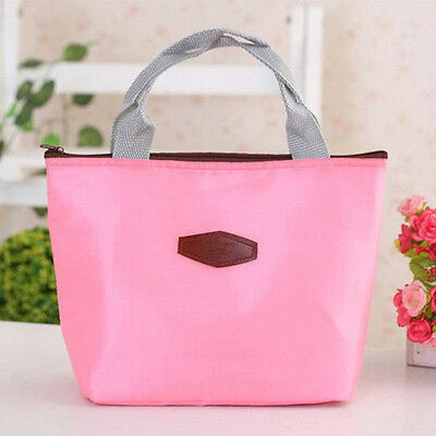 Waterproof Portable Picnic Insulated Food Storage Box Tote Lunch Bag PK Y1
