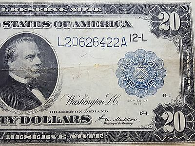 Series 1914 United States $20 Large Size FRN FR-1101A