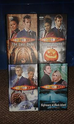 Collection of four HARDBACK BBC BOOKS - Doctor Who, Various Titles