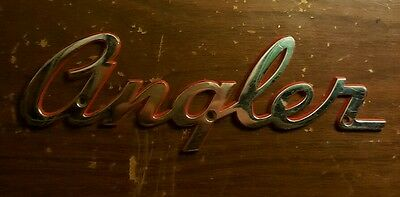 Angler Boat Name Plaque