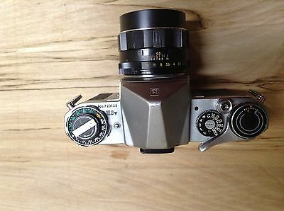 Pentax H3a with 55f2 lens