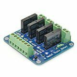 SainSmart 5V 4-Channel Solid State Relay Board for Arduino Uno Duemilanove MEGA2