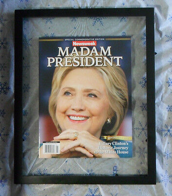 Near Mint Hillary Clinton Special Commemorative Newsweek Madam President Recall