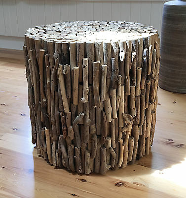 Driftwood Natural stool side table