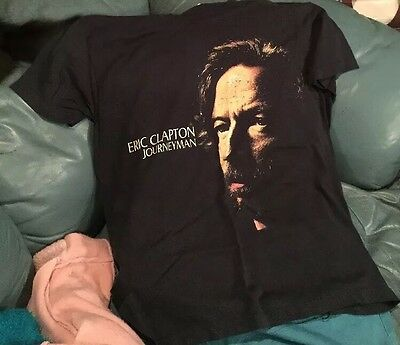 Eric Clapton Show And T-shirt 8-3-90